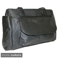Hollywood Tag Leather Shoulder Bag