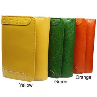 Castello Italian Leather Tri-Fold Wallet