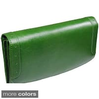 Castello Italian Leather Long Women Wallet