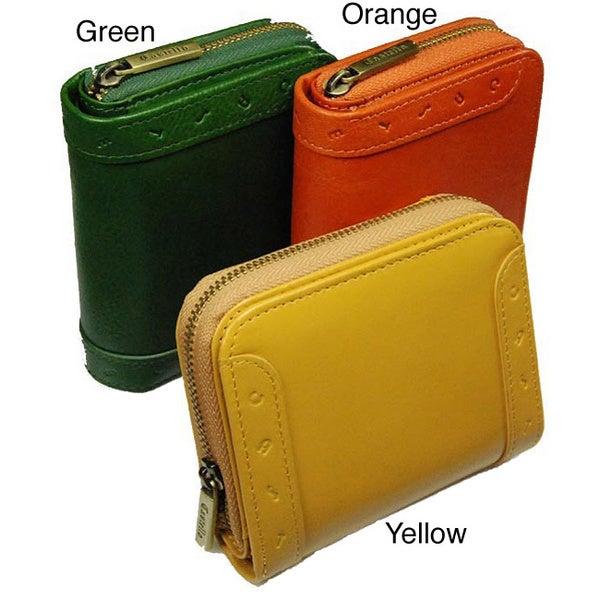 Shop Castello Italian Leather Women Wallet Free Shipping