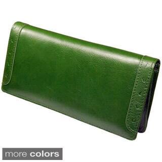 Castello Italian Leather Long Wallet