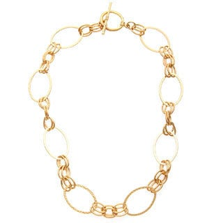 Simon Frank 20-inch Double Oval Glamour Link Chain Necklace
