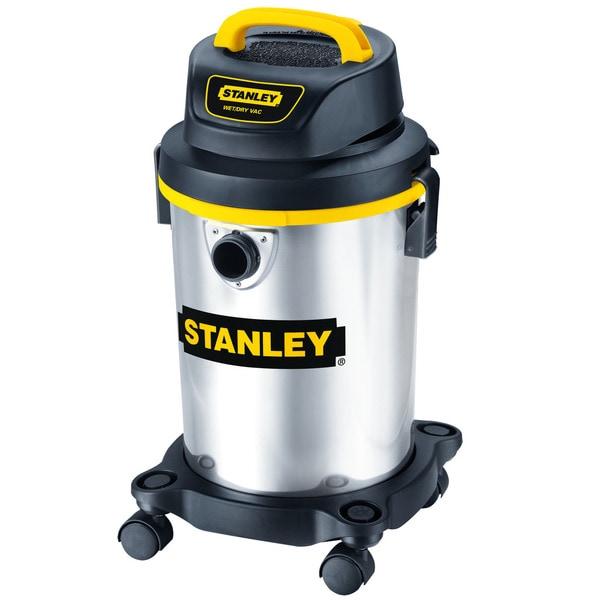 Stanley Wet/ Dry 4 Gallon Stainless Steel Vacuum