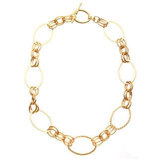Simon Frank 18-inch Double Oval Glamour Link Chain Necklace