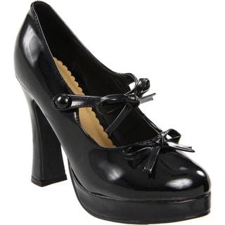 Ellie Women&39s &39425-Molly&39 4-inch Chunky Heel Mary Jane Pumps