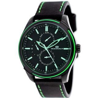 Oceanaut Men's Black/Green Night Watch