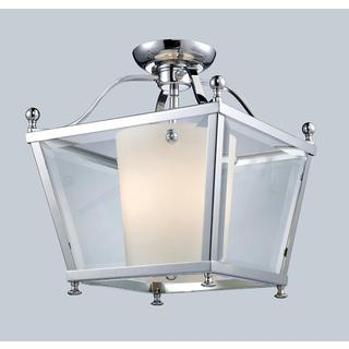 Z-Lite 3-light Chrome Semi Flush Mount