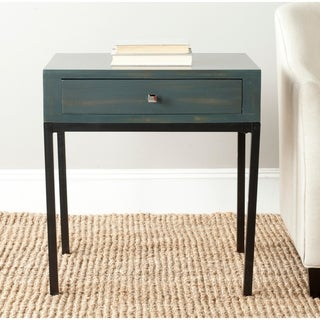 Safavieh Adena Dark Teal End Table
