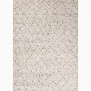 Jaipur Living Hand-Knotted Zuri Ivory Moroccan Rug (2' x 3')