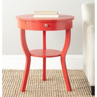 Safavieh Kendra Hot Red End Table