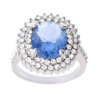 Simon Frank Tanzanite Crystal Accent Ring