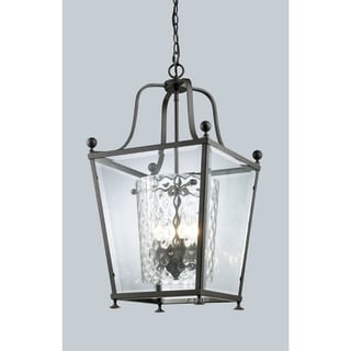 Link to Avery Home Lighting 3-light Bronze Pendant Similar Items in Chandeliers