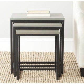 Safavieh Kaleb Ash Grey Stacking Tables