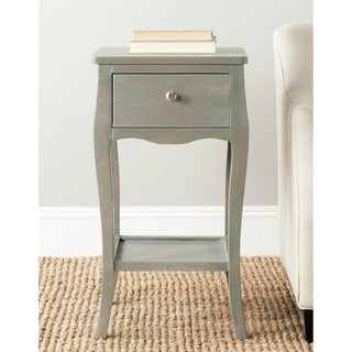 "Safavieh Thelma Ash Grey End Table - 16.1"" x 14.2"" x 30"""