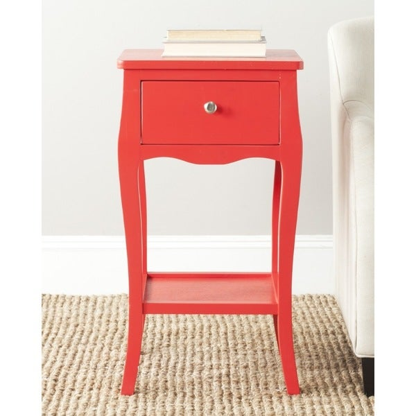 Safavieh Thelma Hot Red End Table Free Shipping Today