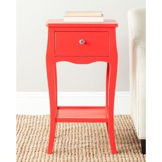 Safavieh Thelma Hot Red End Table