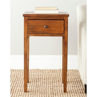 "Safavieh Abel Brown End Table - 16.9"" x 14.2"" x 29.7"""