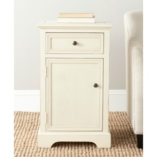 Beau Safavieh Jarome Cream End Table