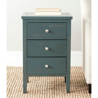 "Safavieh Deniz Dark Teal End Table - 16.9"" x 14.2"" x 26.8"""