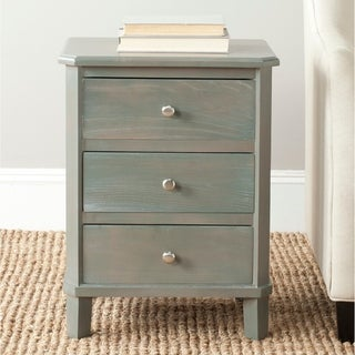 "Safavieh Joe Ash Grey End Table - 18.1"" x 14.2"" x 24.2"""