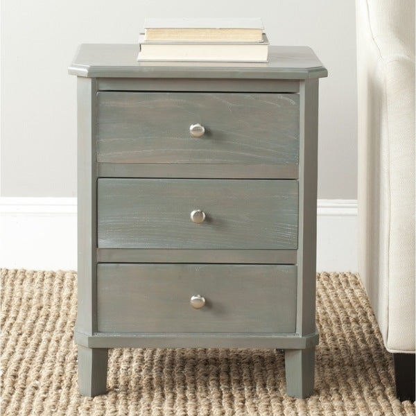 Safavieh Joe Ash Grey End Table