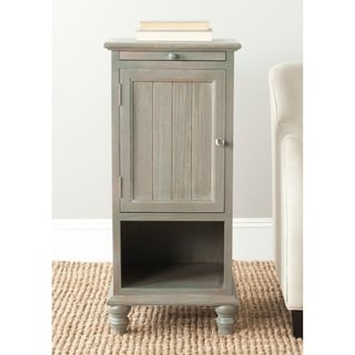 "Safavieh Jezabel Ash Grey End Table - 16.1"" x 14.2"" x 36"""