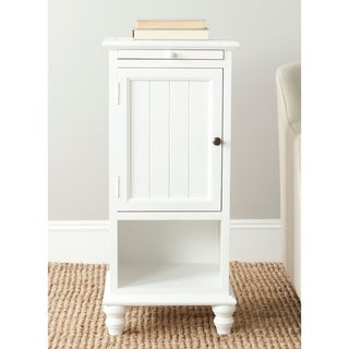 "Safavieh Jezabel White End Table - 16.1"" x 14.2"" x 36"""