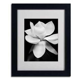 Michael Harrison 'Magnolia' Framed Matted Art