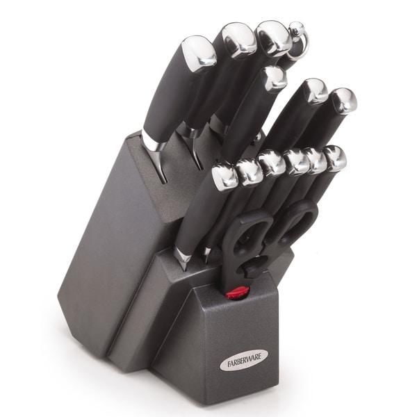Farberware 15-piece Soft Grip Cutlery Set