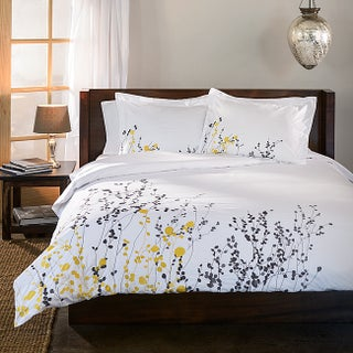Superior Reed 3-piece Cotton Duvet Cover Set (2 options available)