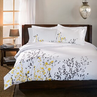 Superior Reed 3-piece Cotton Duvet Cover Set