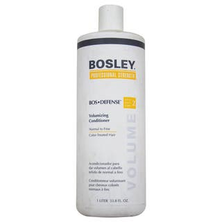 Bosley Bos-Defense 33.8-ounce Volumizing Conditioner for Normal to Fine Color-Treated Hair|https://ak1.ostkcdn.com/images/products/8574612/P15848904.jpg?impolicy=medium