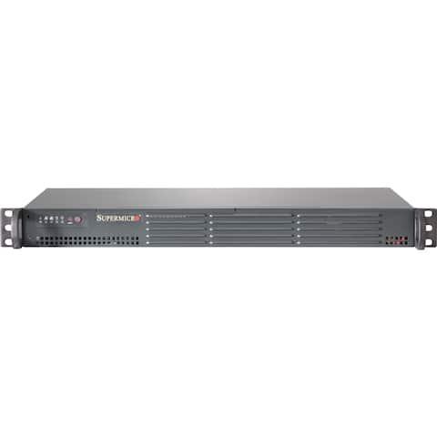 Supermicro SuperServer 5018A-TN4 1U Rack Server - Atom C2750 - Serial ATA/600 Controller
