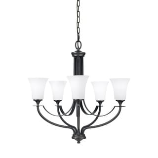 Barrington 5-light Oil Rubbed Bronze Chandelier