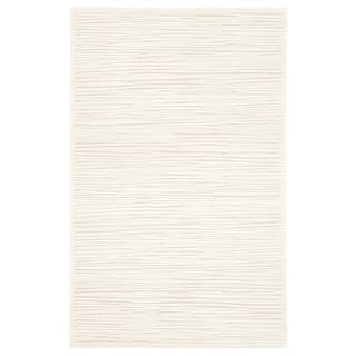 """Raya Abstract White Area Rug (5' X 7'6"""") https://ak1.ostkcdn.com/images/products/8577167/P15851007.jpg?impolicy=medium"""