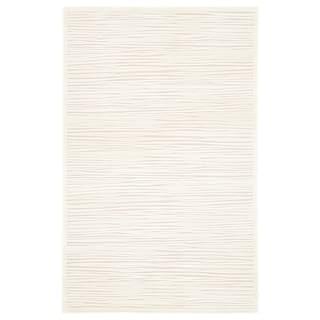 Raya Abstract White Area Rug 5 X