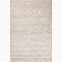 Kallan Handmade Solid Gray Area Rug (5' X 8') - 5' x 8'