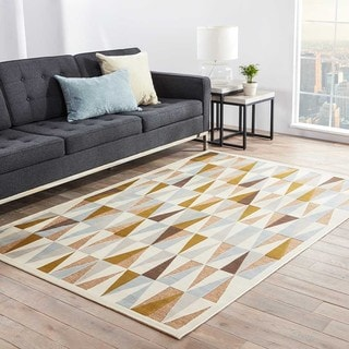 Trinati Geometric Multicolor Area Rug (9' X 12')