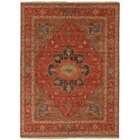 Hand-Knotted Oriental Red Area Rug - 2 x 3