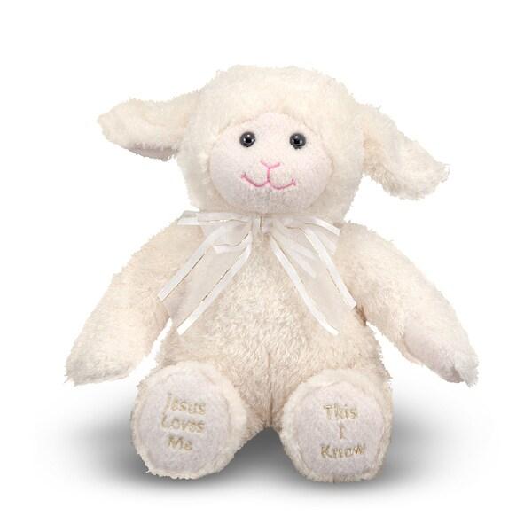 Melissa & Doug Plush Jesus Loves Me Lamb