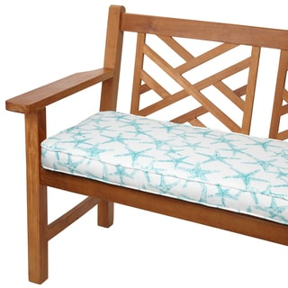 Aqua Starfish 48-inch Indoor/ Outdoor Corded Bench Cushion