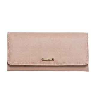 Fendi Vitello Elite Leather Continental Wallet