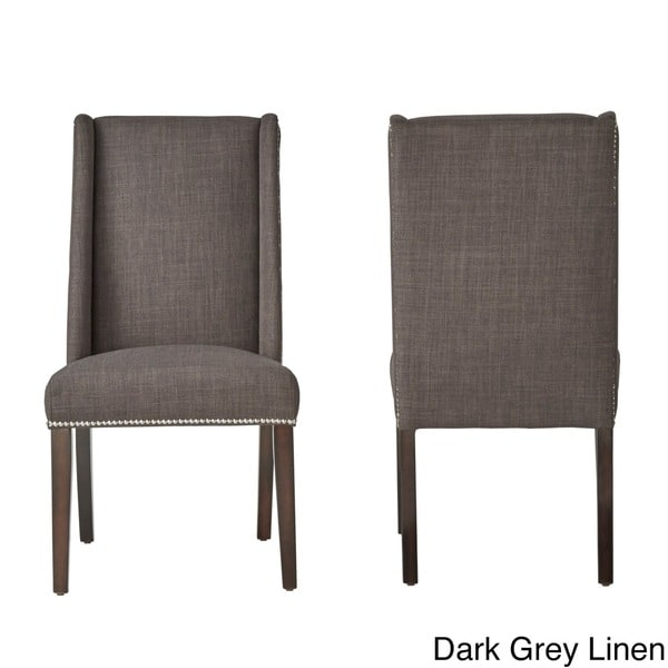 Geneva Wingback Hostess Chairs By INSPIRE Q Bold (Set Of 2)   Free Shipping  Today   Overstock.com   15851624