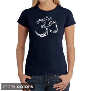 Los Angeles Pop Art Women's Om Yoga T-shirt