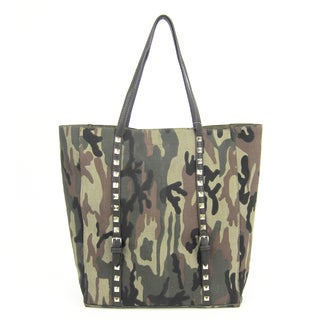 Ceraffi Camuflage Tote with Inside Pouch