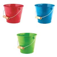 Toysmith Bright and Colorful Pails