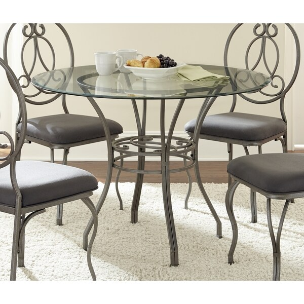 Greyson Living Captiva Glass Top Dining Table