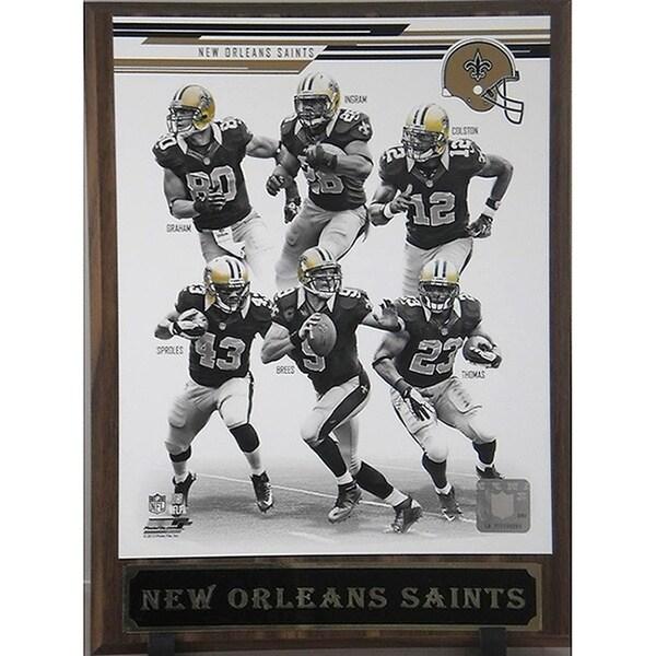 2013 New Orleans Saints Plaque