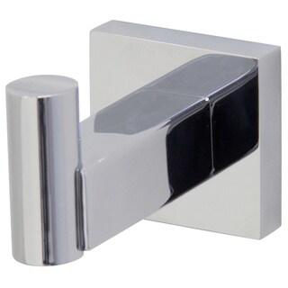 VIGO Allure Chrome Square Design Single Bathroom Hook