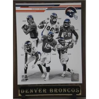 2013 Denver Broncos Plaque